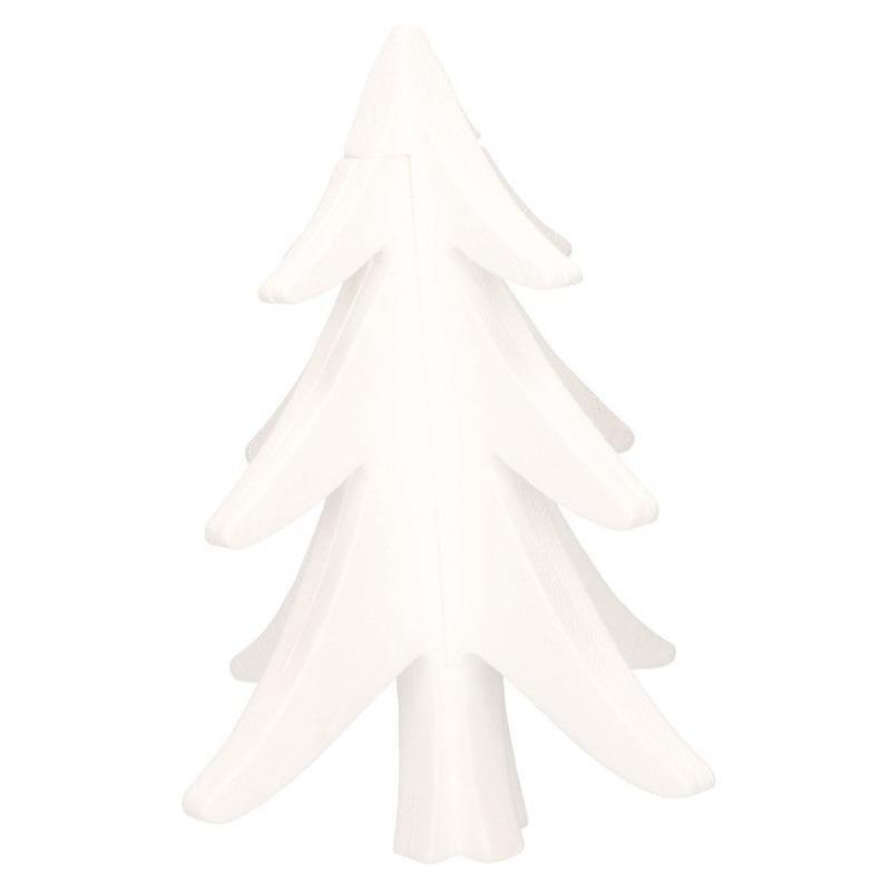 Hobby-DIY piepschuim kerstboom 30 cm kerstdecoratie