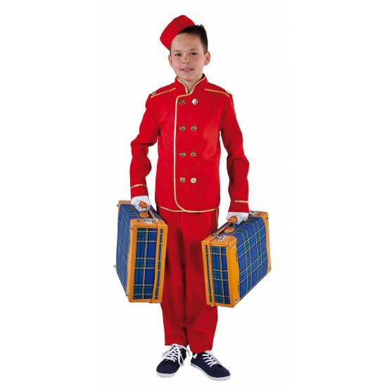 Hotelbediende kostuum voor kinderen