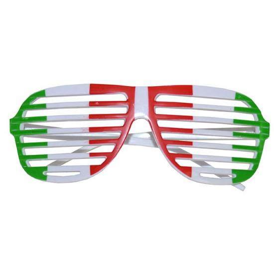 Italie lamellen bril voor volwassenen