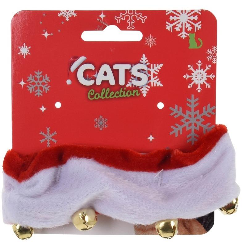 Kerst halsband voor katten-poezen