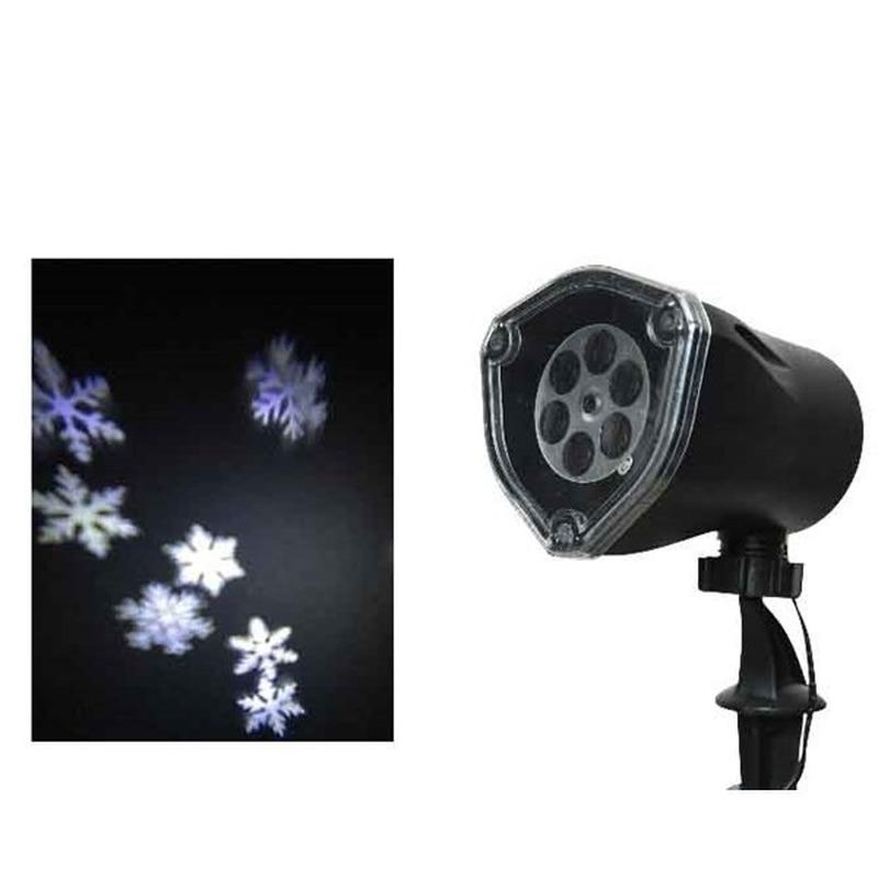 Kerst sneeuwvlokken projector voor buiten