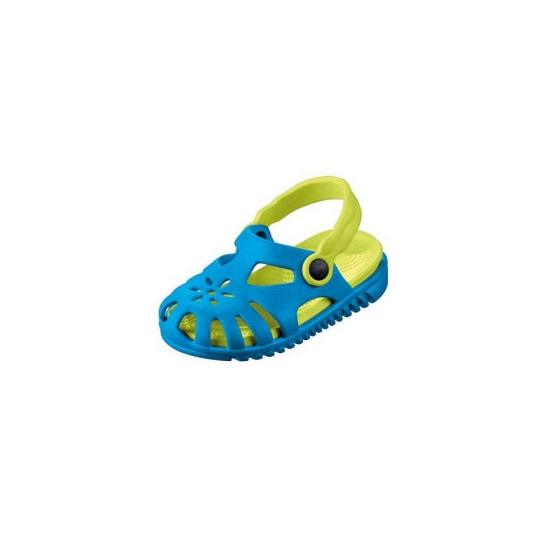 Kinder water sandalen blauw met verwijderbaar zooltje
