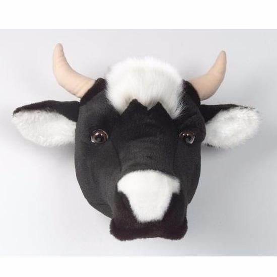 Koeien kop voor aan de muur