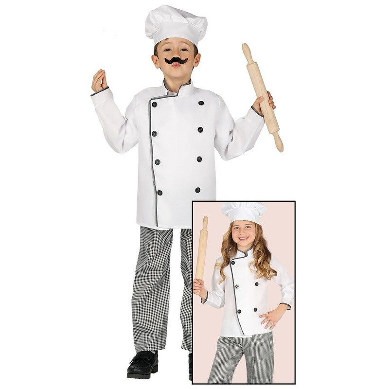 Kok kostuum voor kinderen