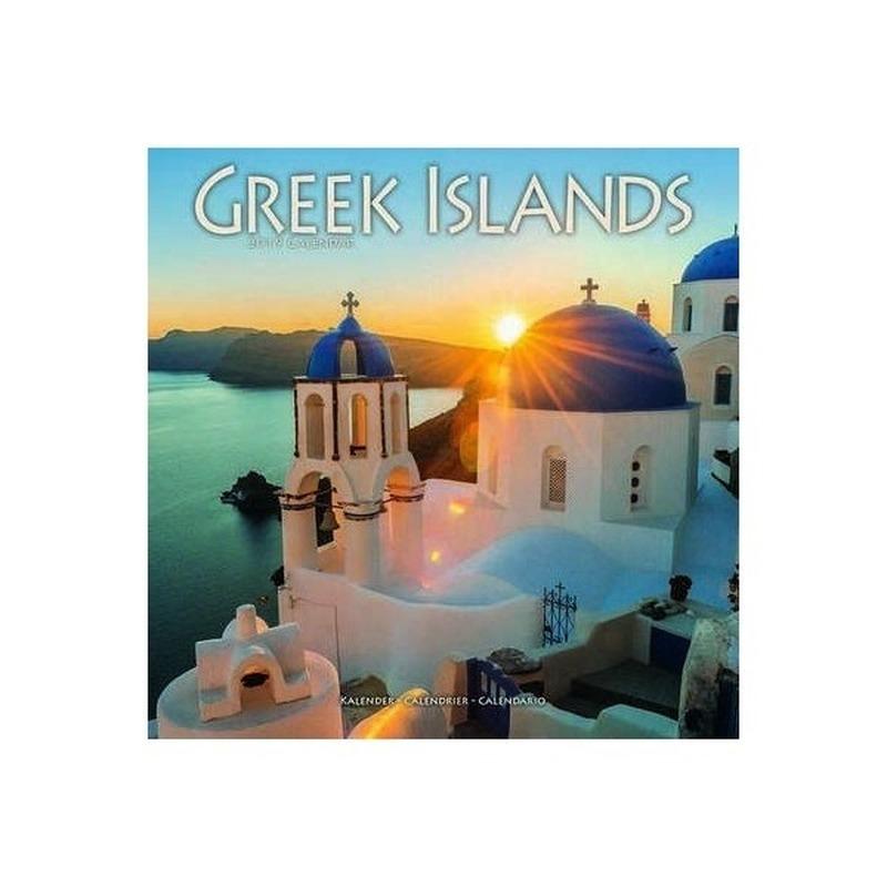 Landen kalender 2019 Griekse eilanden