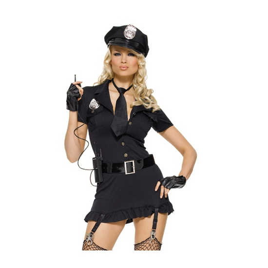 Leg Avenue sexy politie kostuum voor dames
