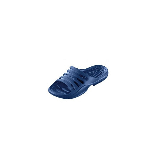 Navy zwembad slippers voor heren