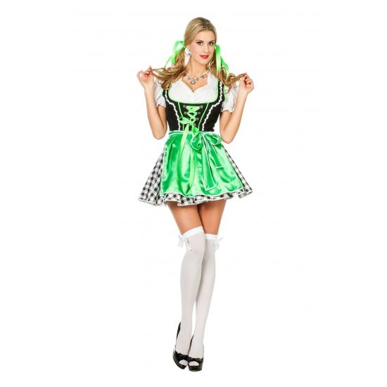 Oktoberfest Groen oktoberfeest jurkje