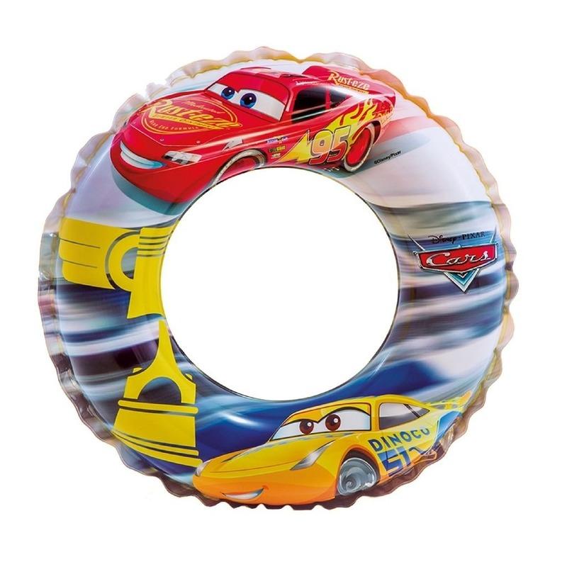 Opblaasbare zwemband Cars 51 cm