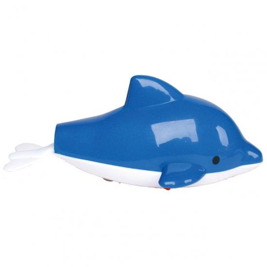 Opwindbaar speelgoed badspeeltje dolfijn