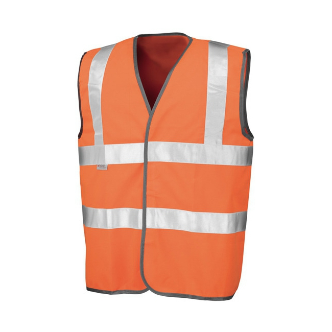 Oranje reflecterend veiligheidsvest