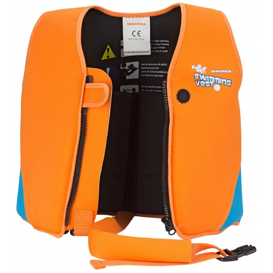 Oranje zwemvest 1-3 jaar