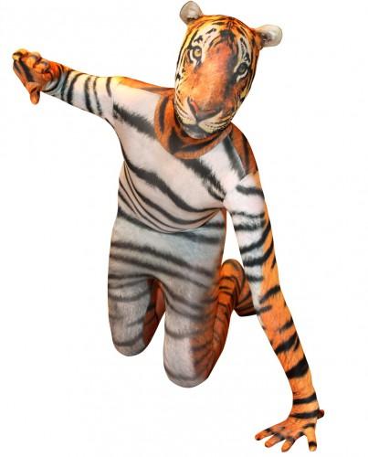 Originele morphsuit tijger voor kinderen