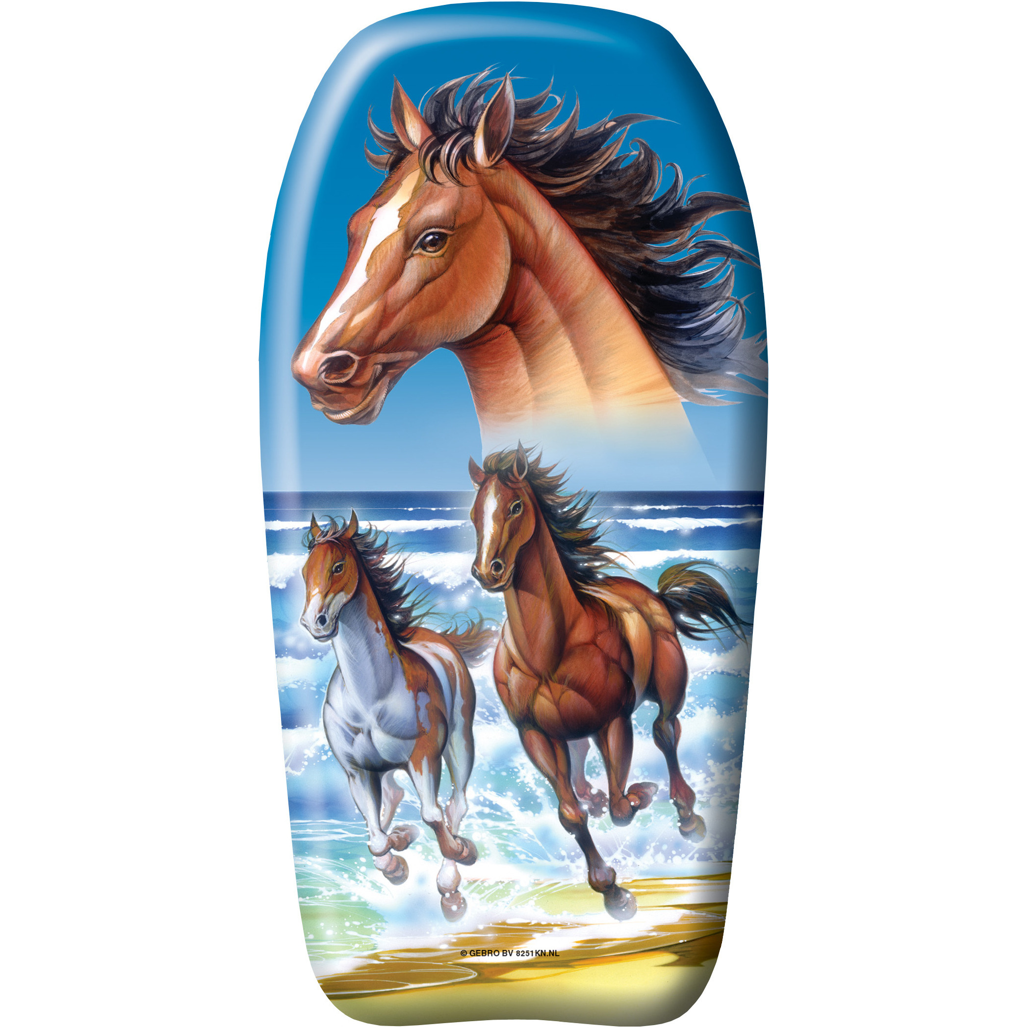 Paarden strand bodyboard 82 cm speelgoed