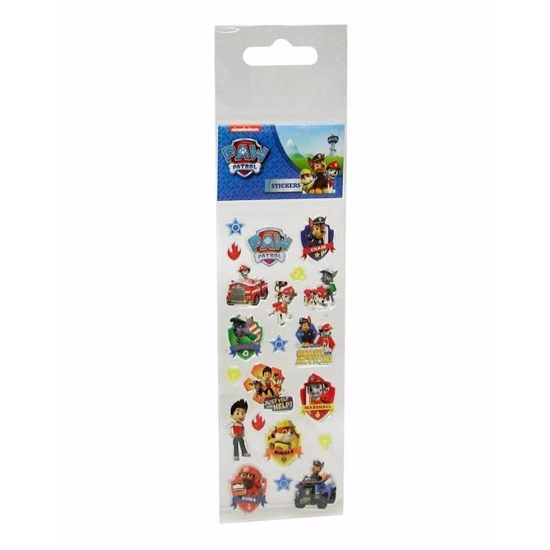 Paw Patrol stickers 21 stuks