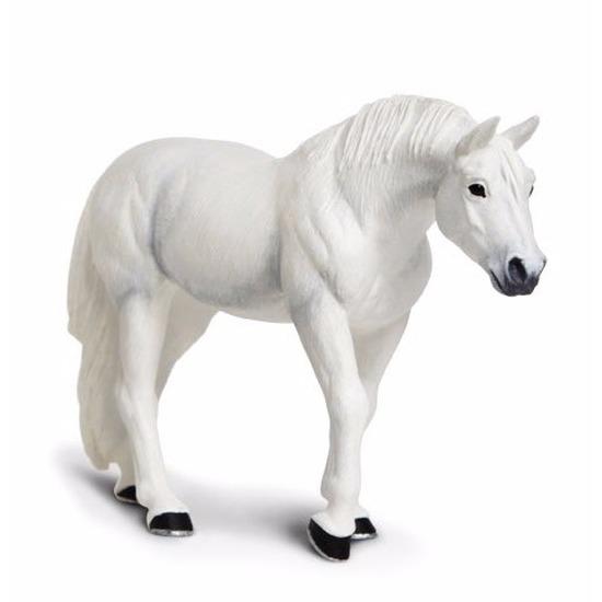 Plastic speelgoed figuur Lipizzaner paard hengst 12 cm