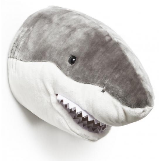 Pluche haaien kop