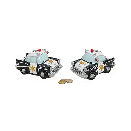 Politie auto spaarpot