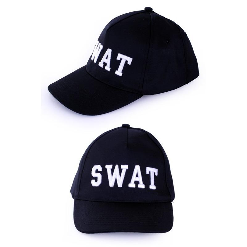 Politie SWAT baseball cap verkleedkleding voor volwassenen