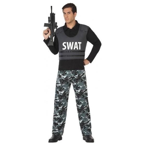 Politie SWAT verkleed pak kostuum voor volwassenen