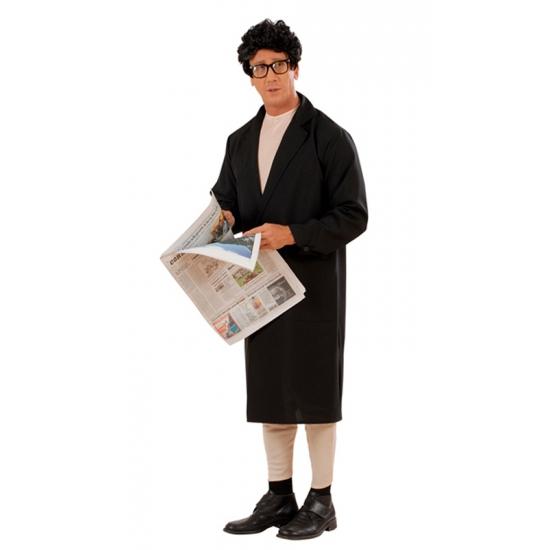 Potloodventer kostuum voor heren. grappig kostuum van een potloodventer. dit kostuum bestaat uit de bodysuit ...
