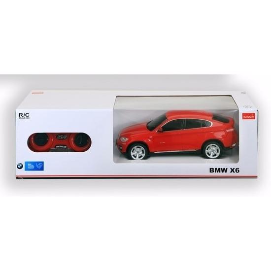 Radiografisch bestuurbare rode BMW X6 auto 1:24