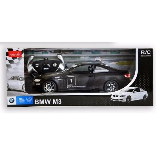 Radiografisch bestuurbare zwarte BMW M3 auto 1:14