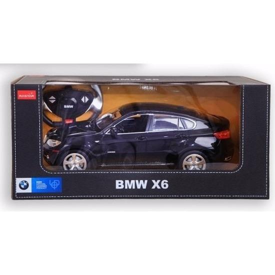 Radiografisch bestuurbare zwarte BMW X6 auto 1:14