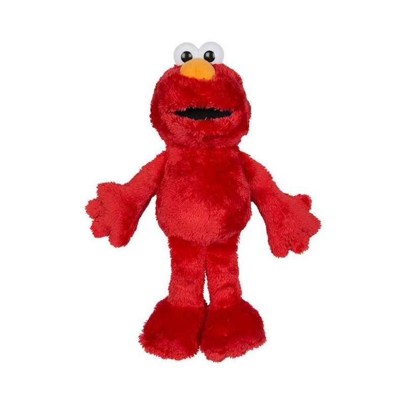 Rode grote pluche Elmo Sesamstraat knuffel-pop 100 cm