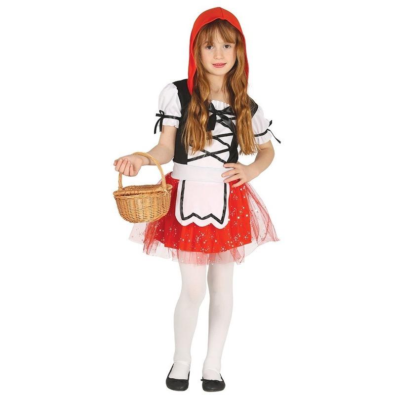Roodkapje verkleed kostuum jurkje voor meisjes