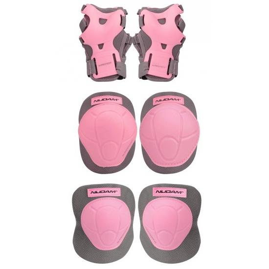 Roze beschermers voor kinderen