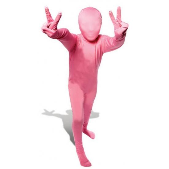 Roze morphsuit voor kinderen