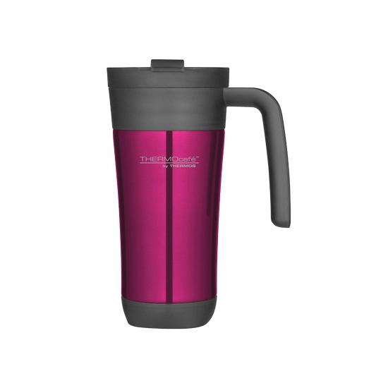 Roze thermosbeker-warm houd beker 425 ml
