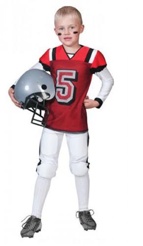 Rugbyspeler kostuum voor kinderen
