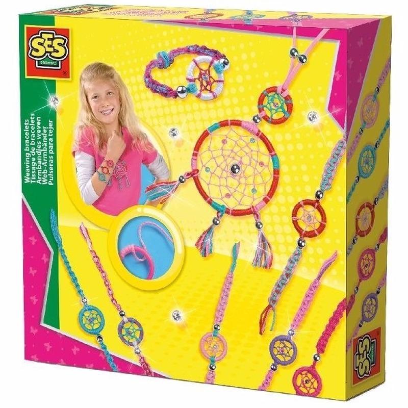 Sieraden-dromenvanger hobby set voor kinderen