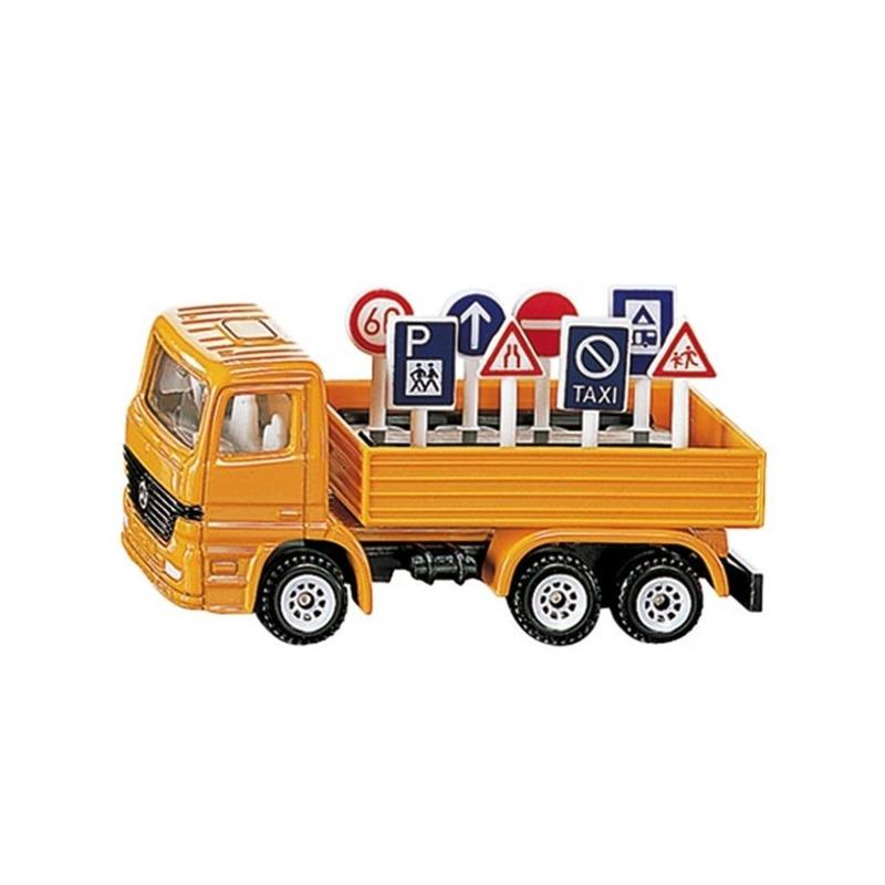 Siku vrachtwagen met houder