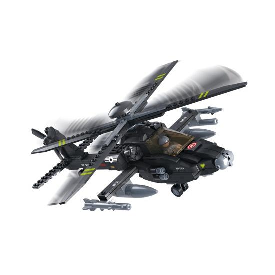 Sluban Apache helikopter