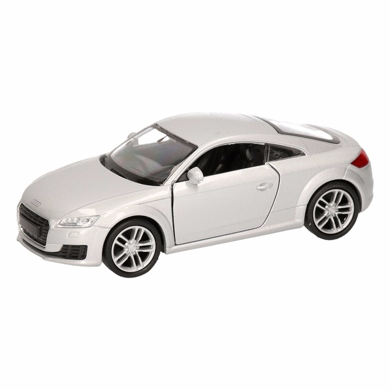 Speelgoed grijze Audi TT 2014 Coupe auto 12 cm