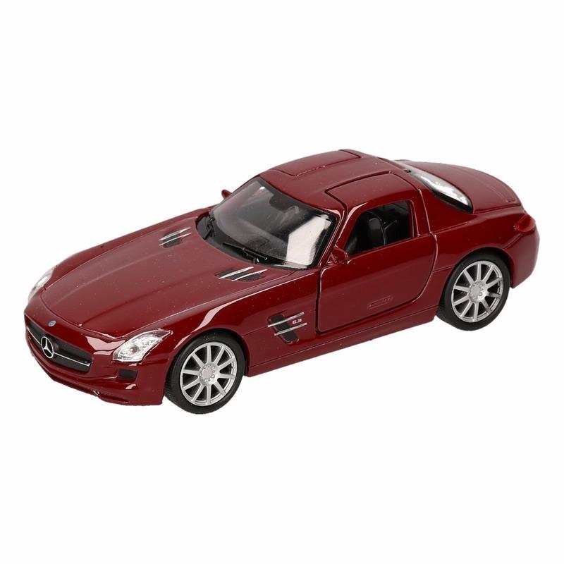 Speelgoed rode Mercedes SLS AMG 11,5 cm
