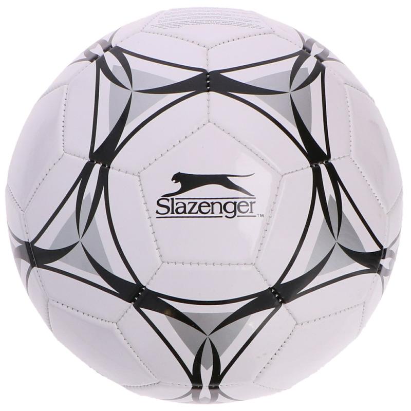 Speelgoed voetbal wit-zwart 21 cm voor kinderen-volwassenen