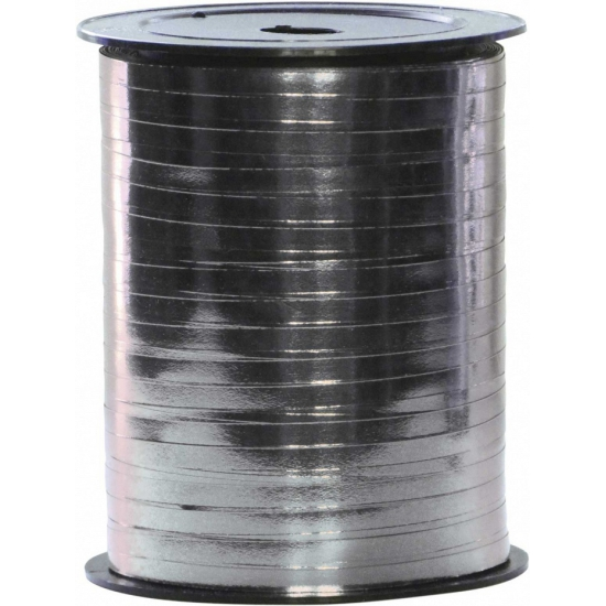 Spoel polyband zilver