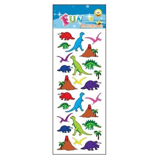 Stickervel dinosaurus