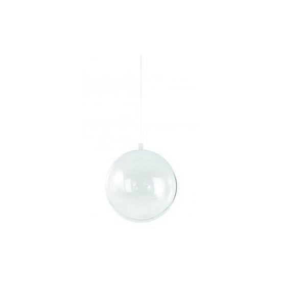 Transparante DIY kerstbal 14 cm