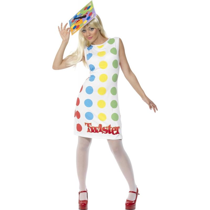 Een twister kostuum voor vrouwen. met dit twister kostuum kunt u levensecht twister spelen! dit twister ...