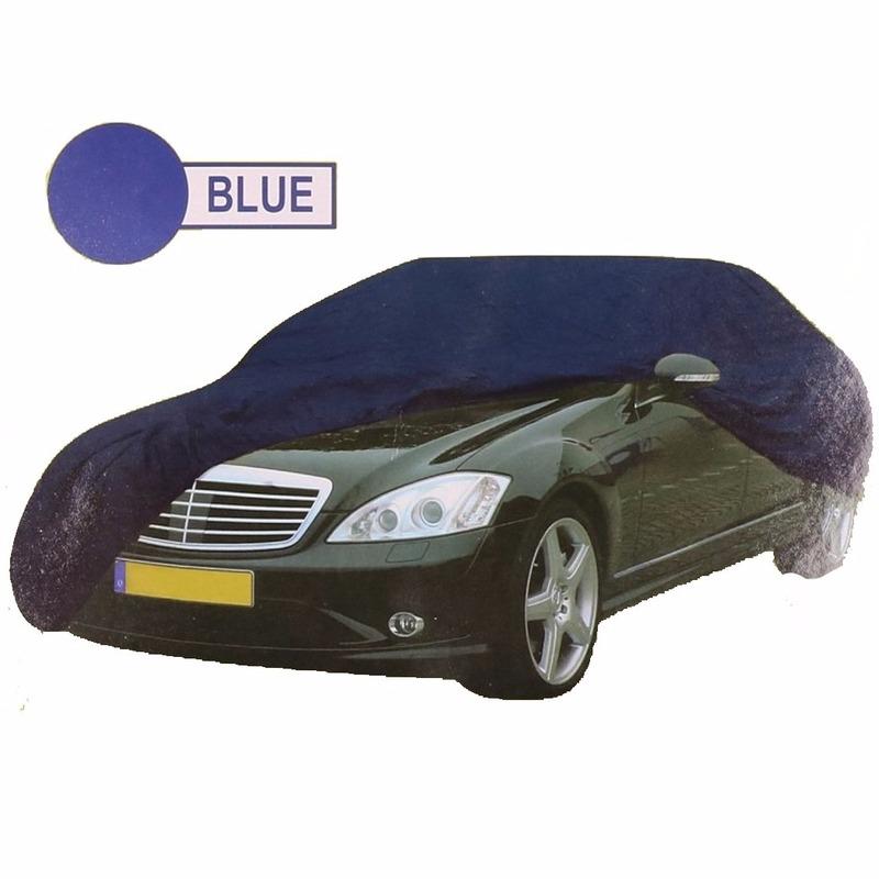Universele auto beschermhoes XL blauw