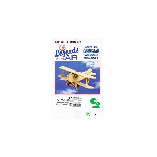 Vliegtuig bouwpakket Albatros 402