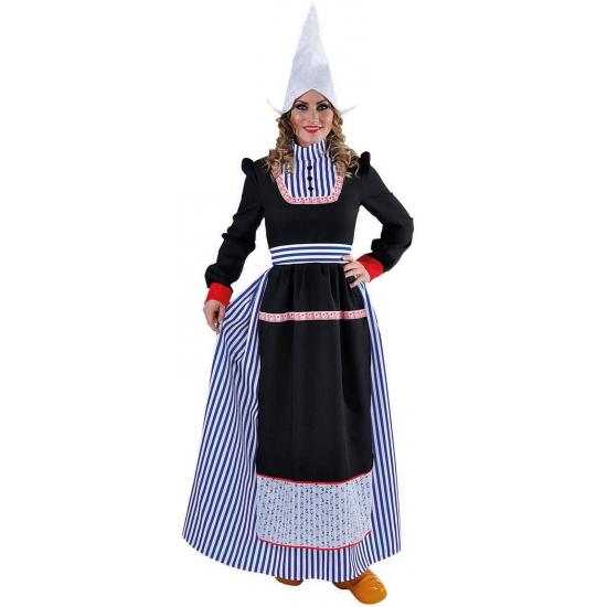 Volendams kostuum voor dames. dit volendams kostuum bestaat uit een jurk met schort. materiaal: 100% ...