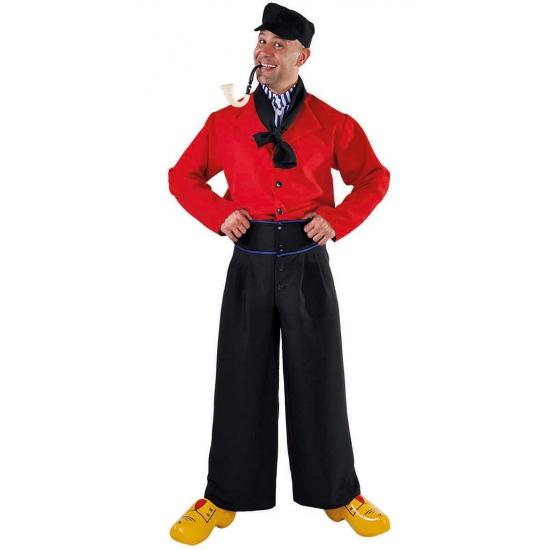 Volendams kostuum voor heren. dit volendamse kostuum voor heren bestaat uit een broek, blouse, sjaal en pet. ...