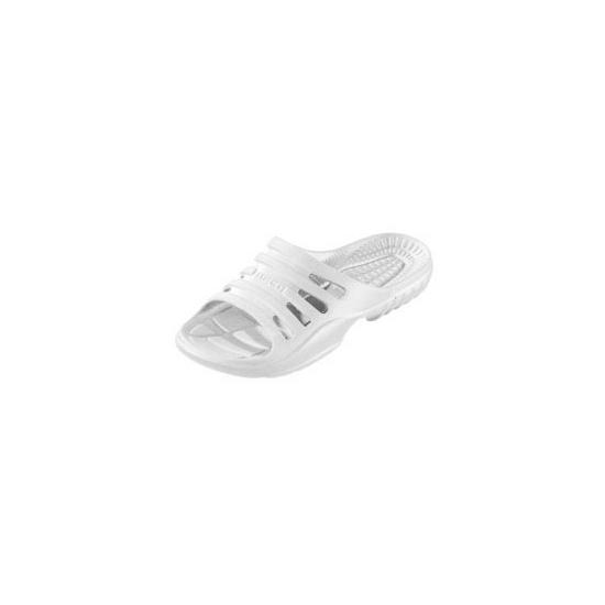 Witte zwembad slippers voor heren