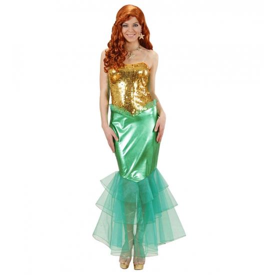 Zeemeermin kostuum voor dames